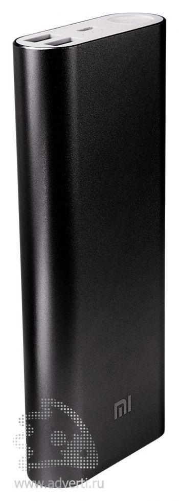 Универсальное зарядное устройство «Five Metal Colors» на 20800 mah, черное