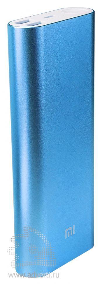 Универсальное зарядное устройство «Five Metal Colors» на 20800 mah, синее