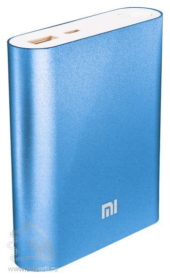 Универсальное зарядное устройство «Five Metal Colors» на 5200 mah, синее