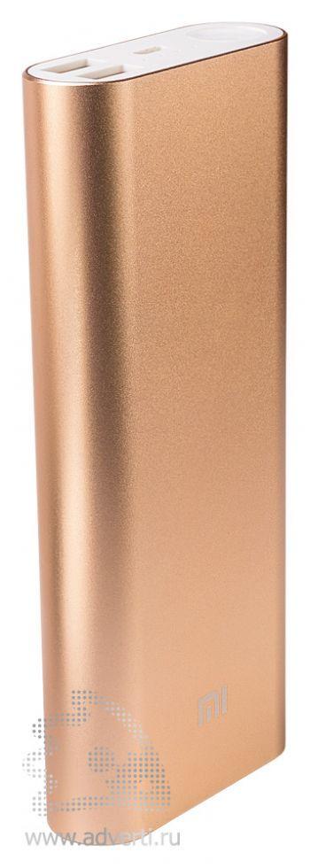 Универсальное зарядное устройство «Five Metal Colors» на 20800 mah, золотистое