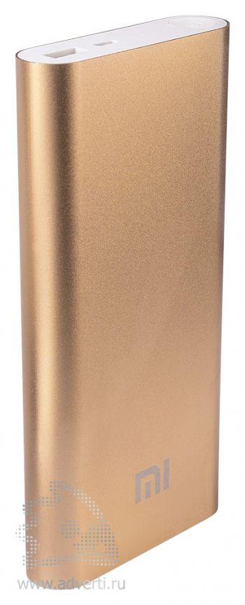 Универсальное зарядное устройство «Five Metal Colors» на 16000 mah, золотистое
