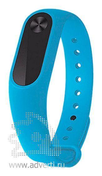 Фитнес-браслет «Move» с экраном и датчиком пульса, голубой