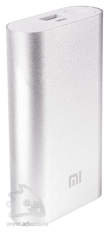 Универсальное зарядное устройство «Five Metal Colors» на 10400 mah, серебристое