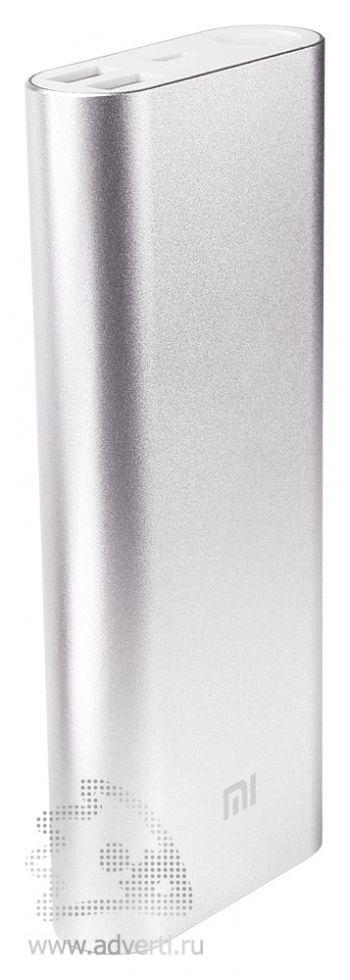 Универсальное зарядное устройство «Five Metal Colors» на 20800 mah, серебристое