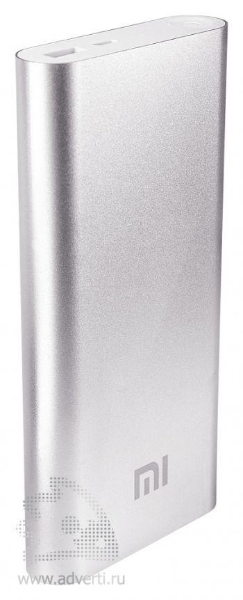 Универсальное зарядное устройство «Five Metal Colors» на 16000 mah, серебристое