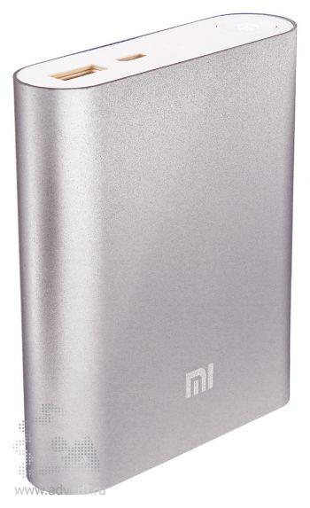 Универсальное зарядное устройство «Five Metal Colors» на 5200 mah, серебристое