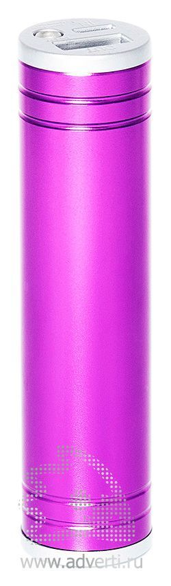 Зарядное устройство «Тигристое» на 2600 mah, розовое