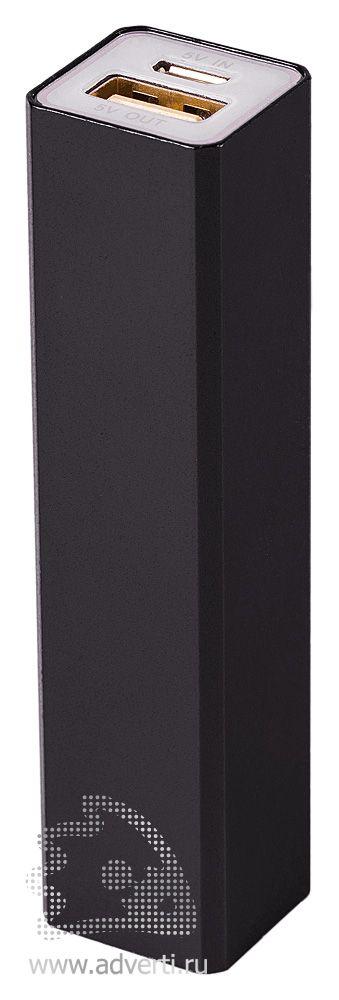 Зарядное устройство «Классик» на 2600 mah, черное