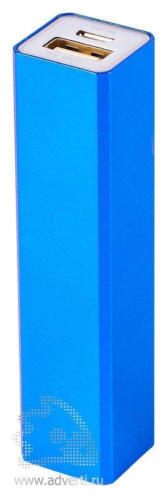 Зарядное устройство «Классик» на 2600 mah, синее