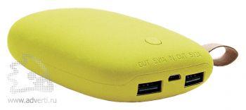 Универсальное зарядное устроство «Булыжник», желтое