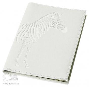 Обложка для паспорта «Жизнь без черных полос!», лицевая сторона