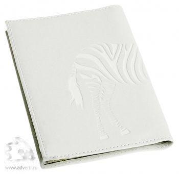 Обложка для паспорта «Жизнь без черных полос!», обортная сторона