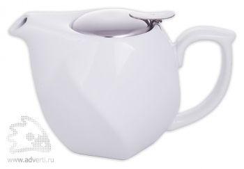 Заварочный чайник «Эстет», белый