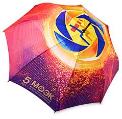 Пример макета нанесения на зонт