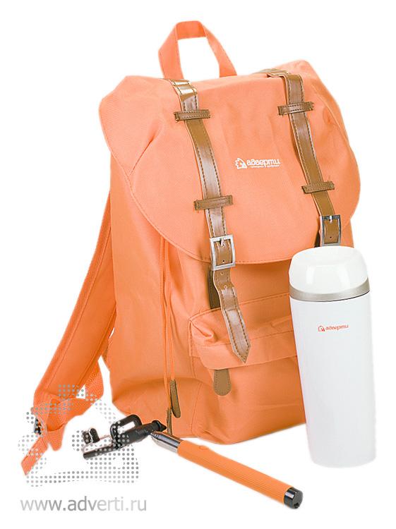 Рюкзак, термостакан, монопод